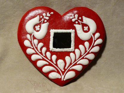 Mézeskalács szív
