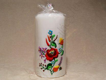 Kalocsai kézműves gyertya