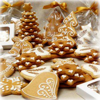Karácsonyi mézeskalács csomagok