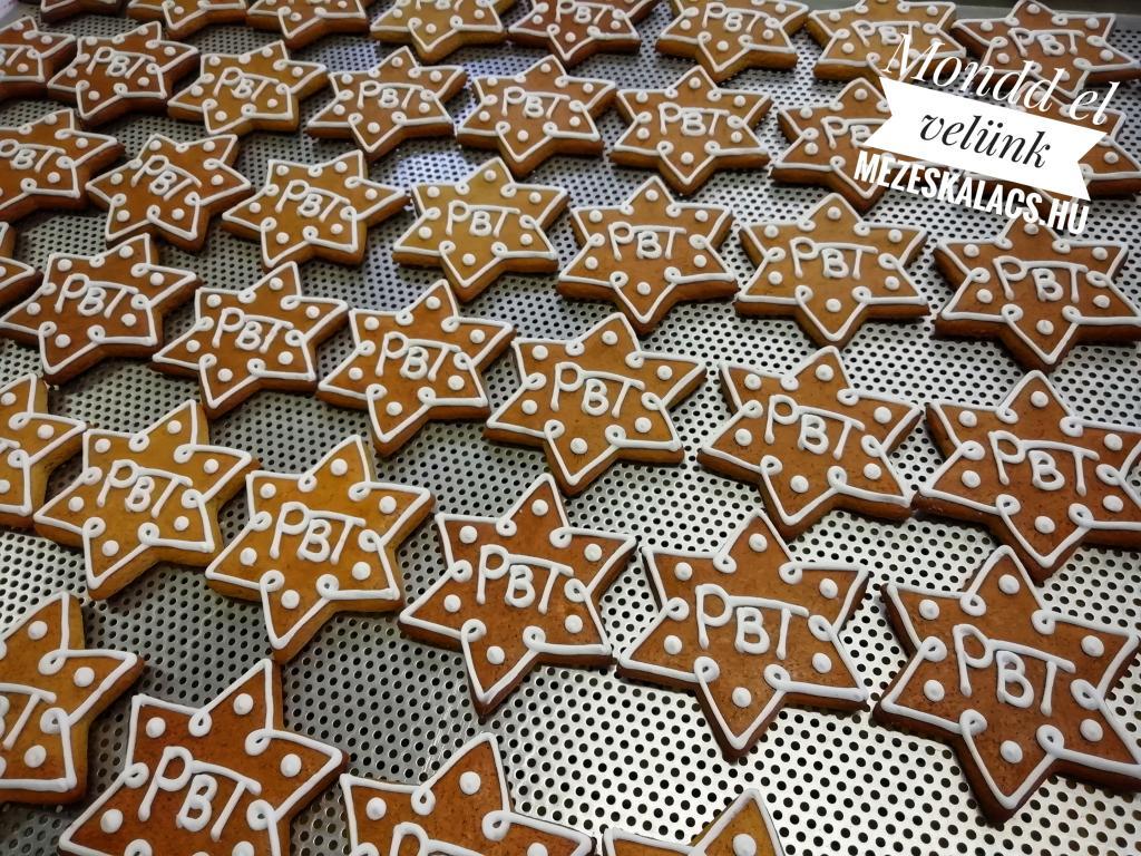 PBT mézeskalács csillag