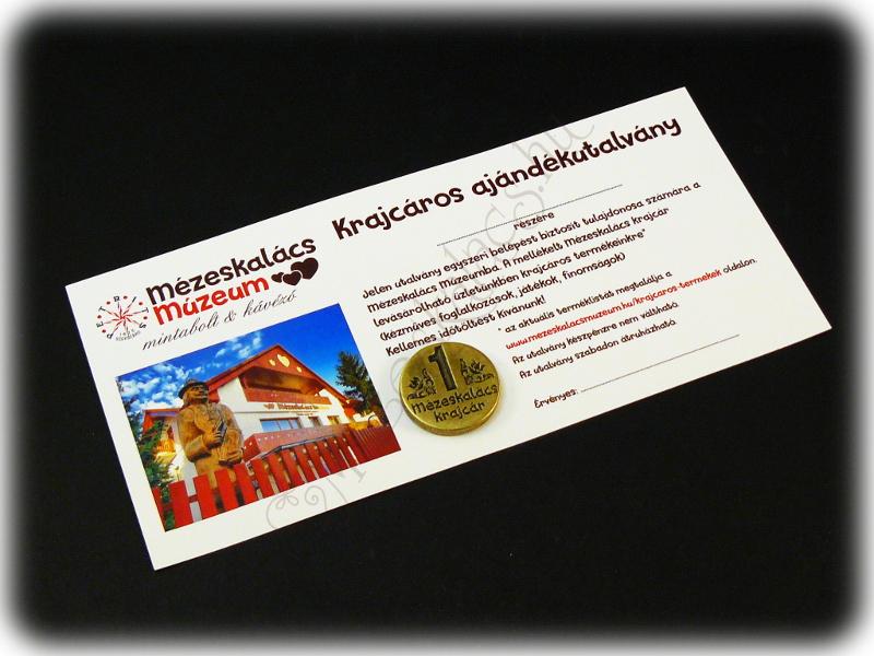Mézeskalács Múzeum Ajándékutalvány